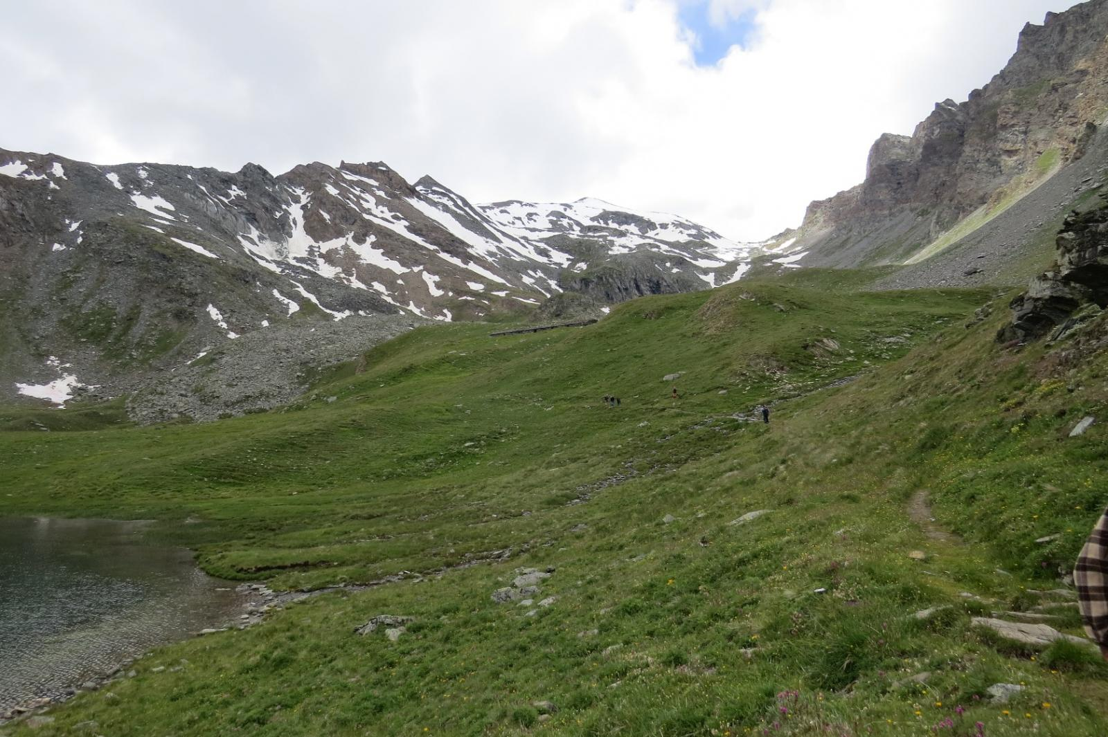 Verso il Col d'Entrelor