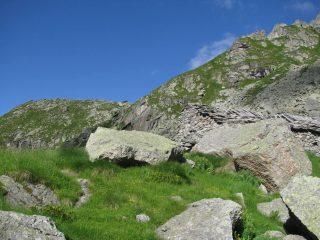 Arrivo all'Alpe Terrin