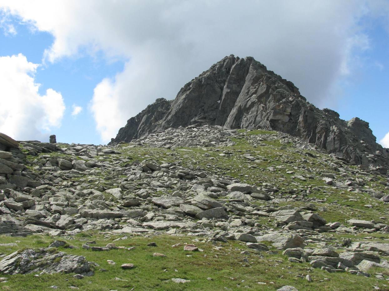 Passo dell'Alpuggio e Punta della Rossa
