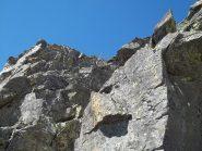 ultimo tratto con piccola arrampicata