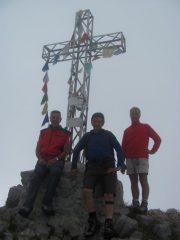 Sulla cima della Grigna