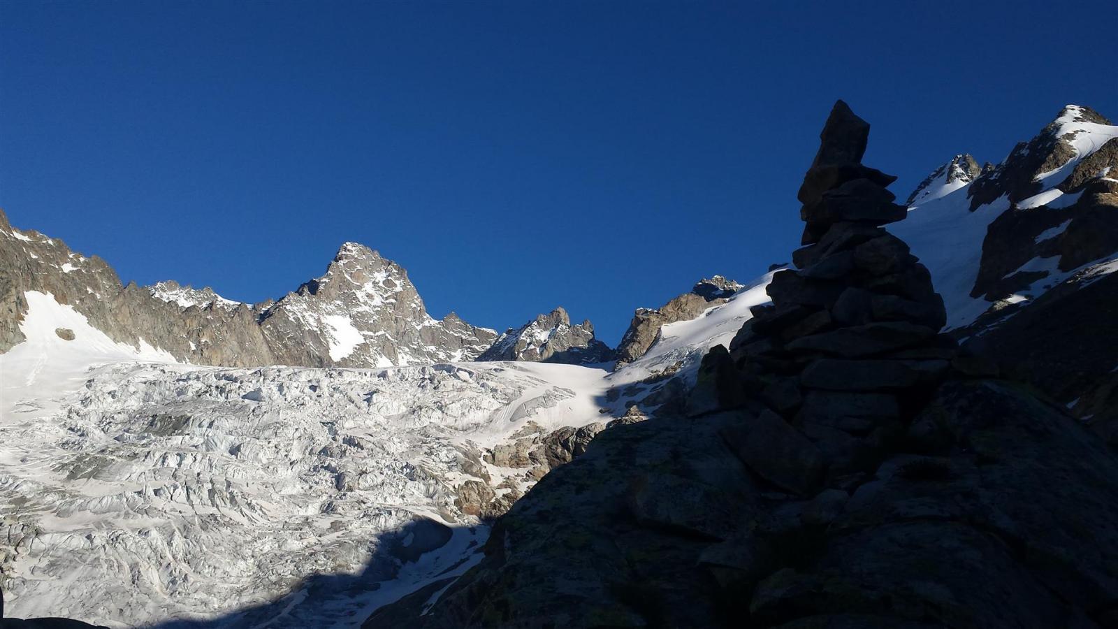 ghiacciaio Pre de Bar e Aig de Triolet