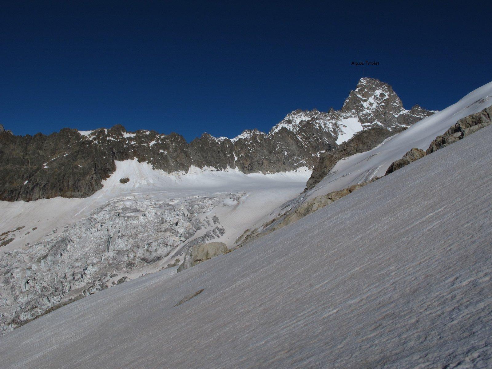 Vista sull'Aig. de Triolet
