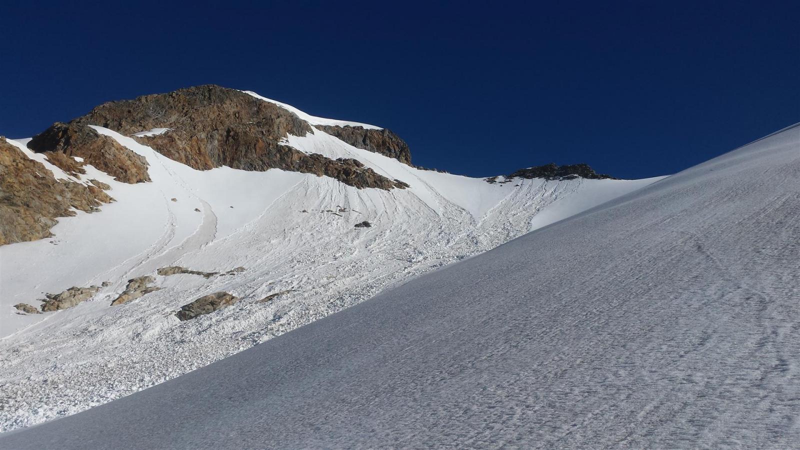 scaricamenti sul Mont Grapillon