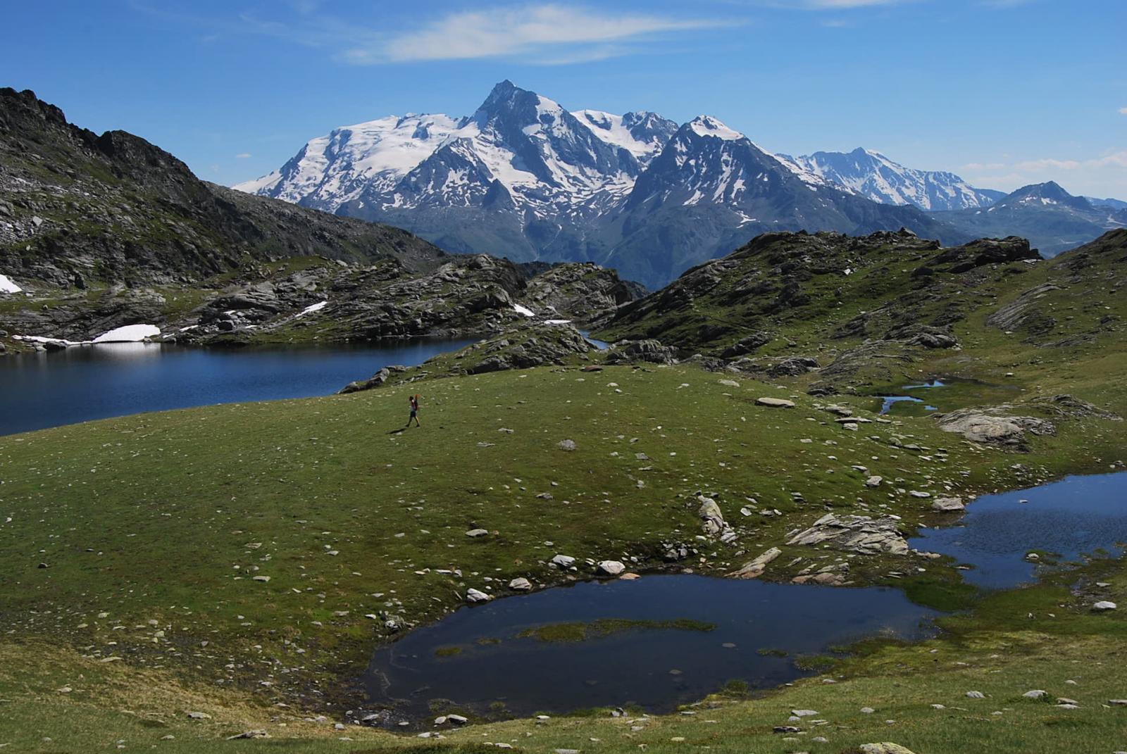 I laghi ed il Mt Pourri