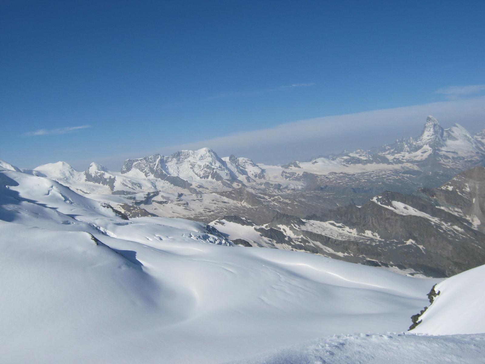 Panorami dalla sella del Feejoch