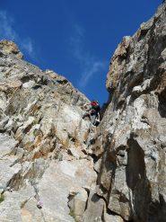 Salendo alla cima del Gelas di Lourousa