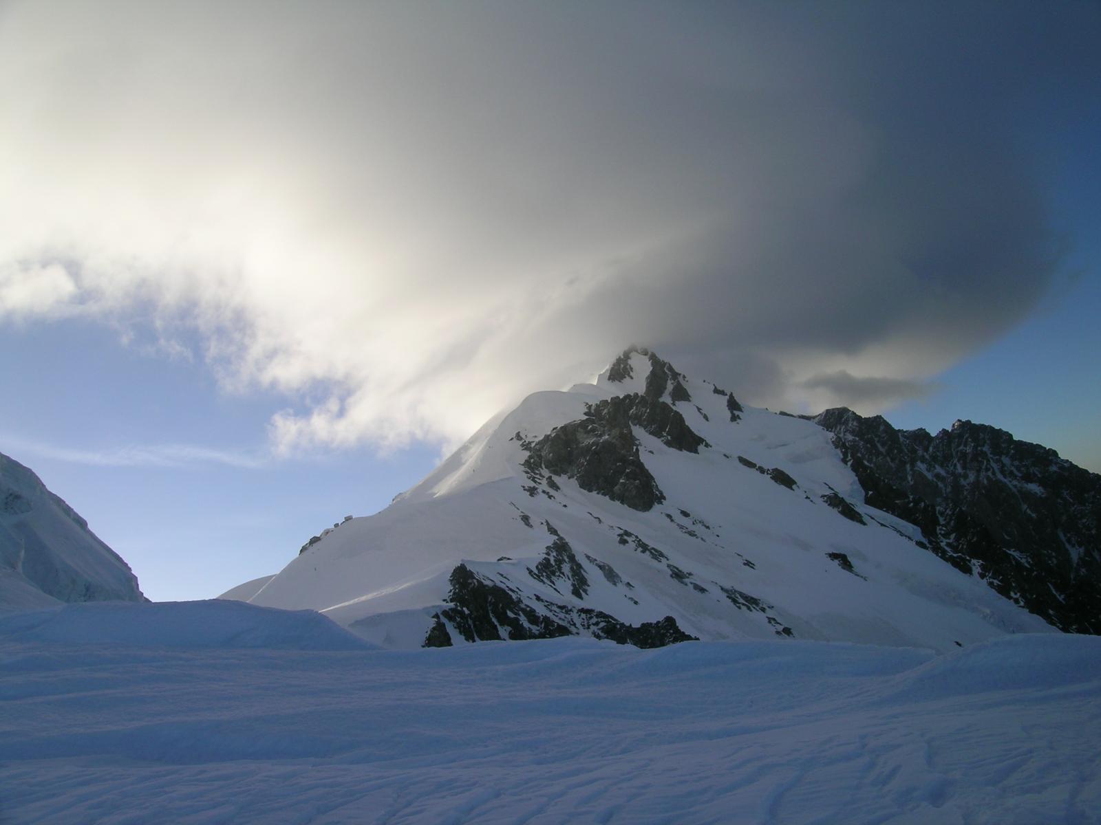 Il monte Bianco dalla spalla 4154