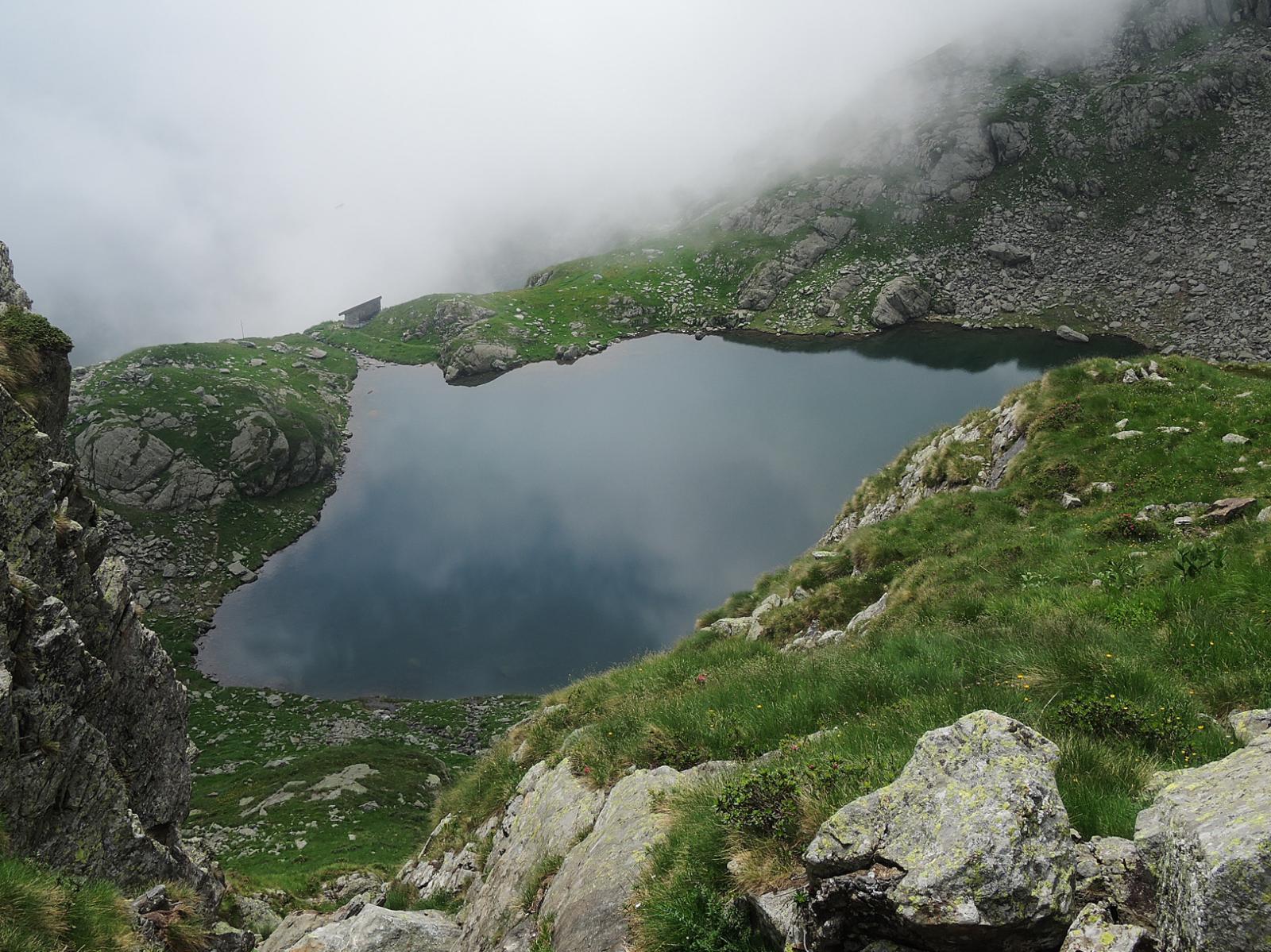 Lago Capezzone e Rifugio Traglio