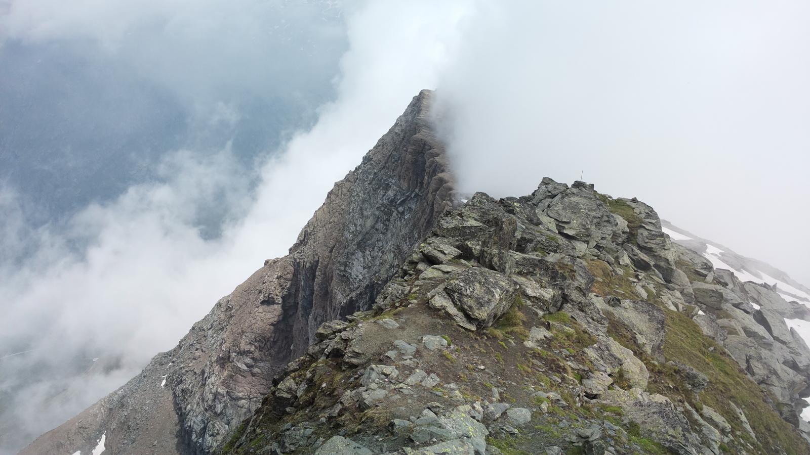 la cresta del Blach o Piccolo Rothorn