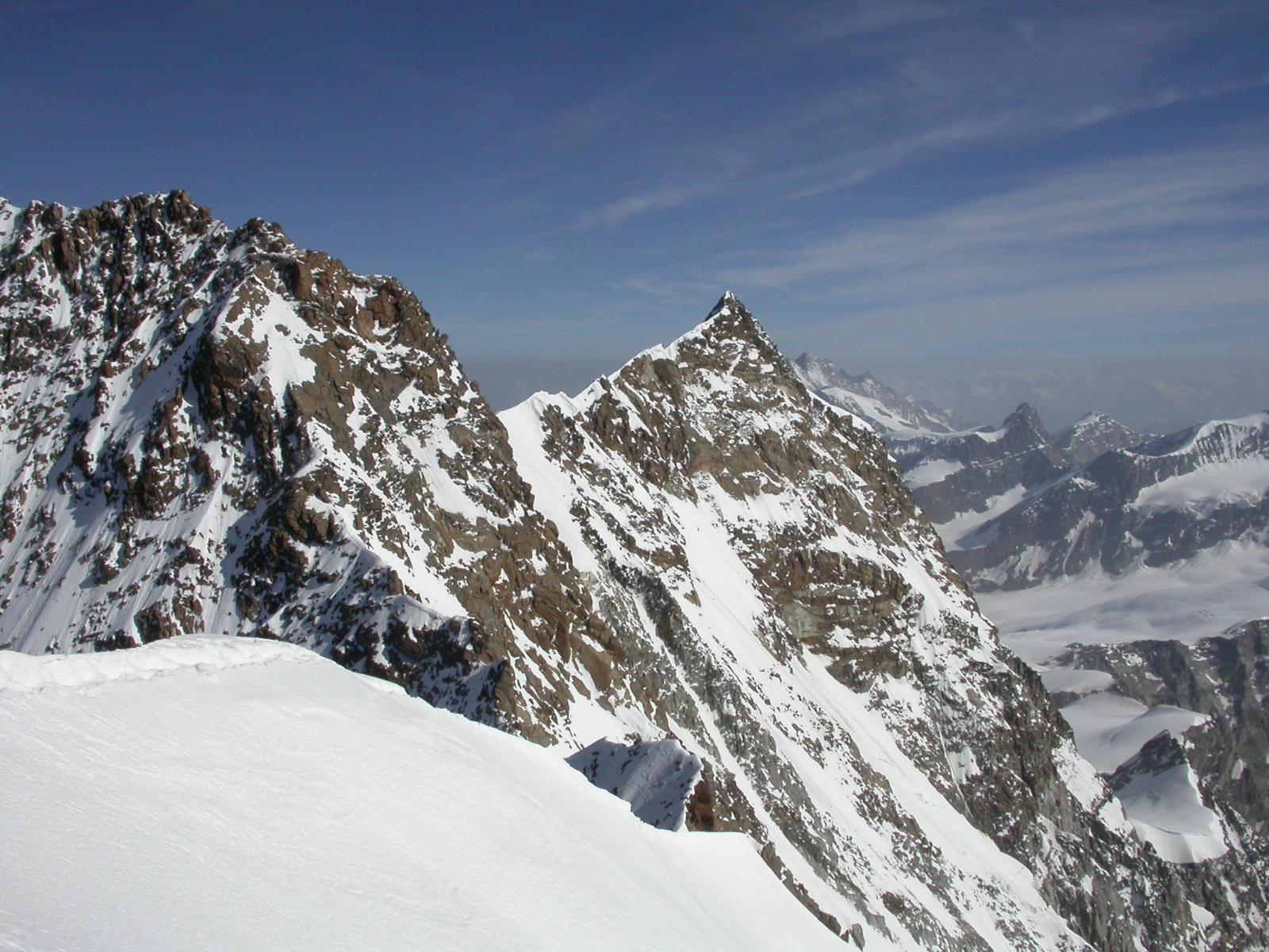 Dalla cima vista su Dufur e Norden
