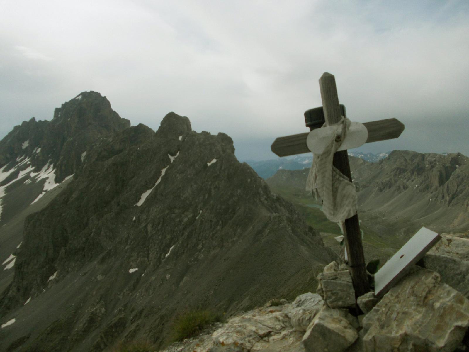 oronaye ,dalla cima delle Manse
