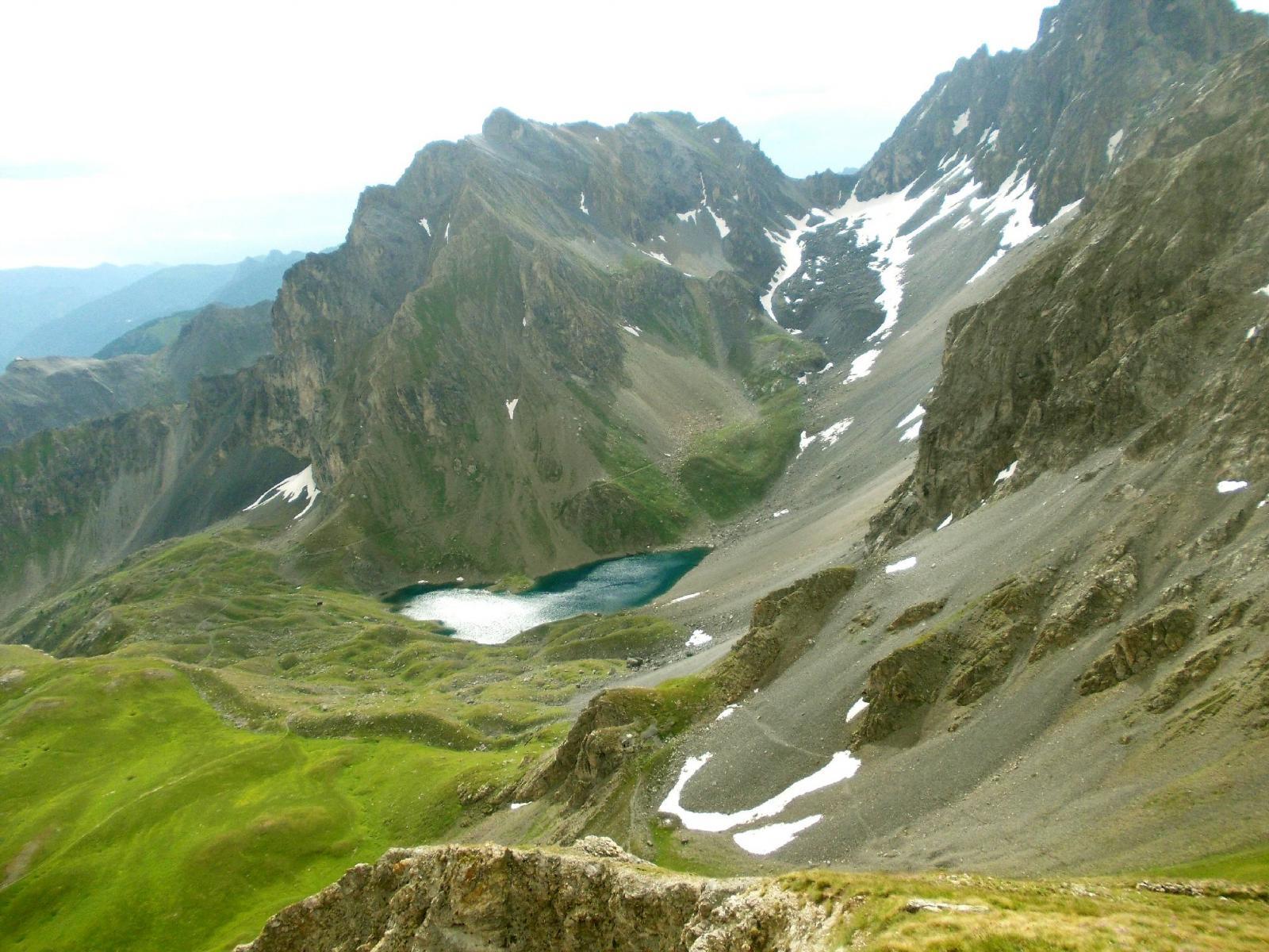 Lago Apzoi e Col Feuillas
