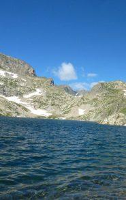 Lago e passo dell'Agnel