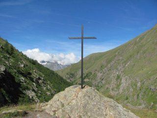 Croce prima di raggiungere Grauson Inf.