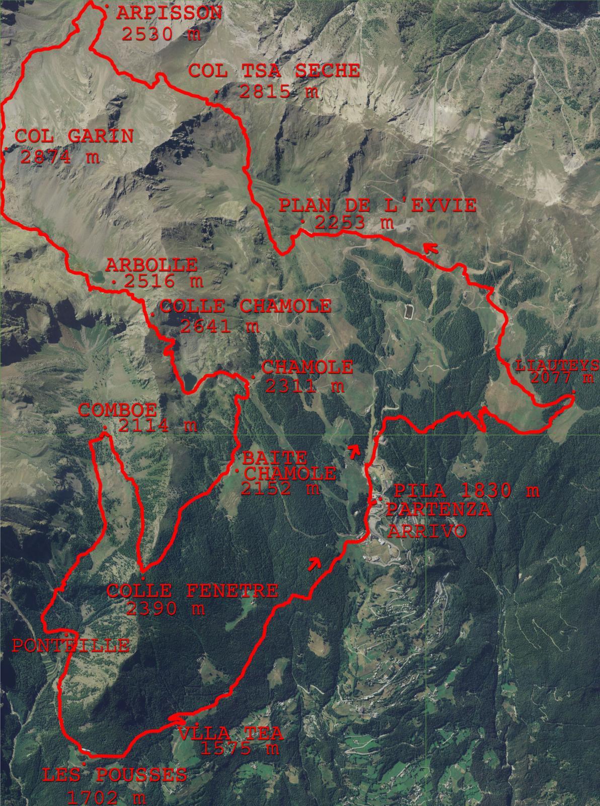 percorso 35 km