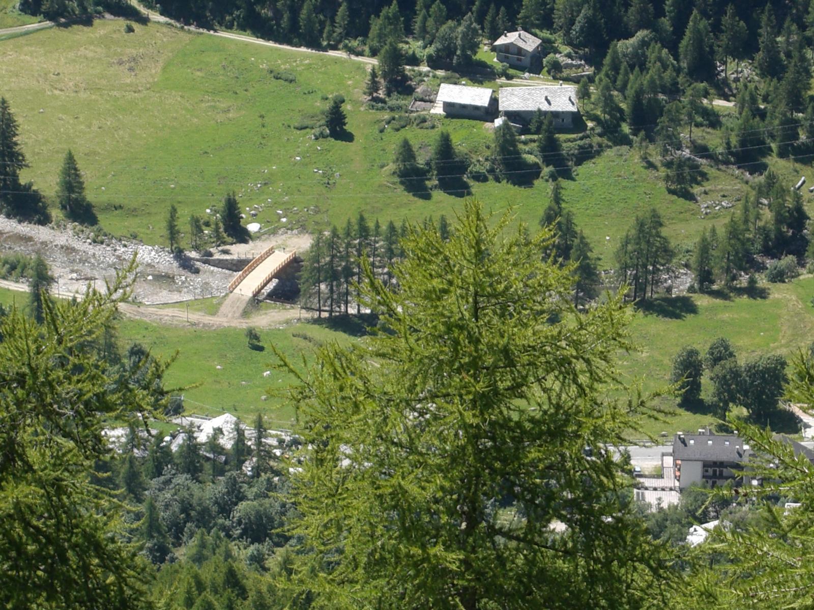 Borgata Frassa vista dall'alto