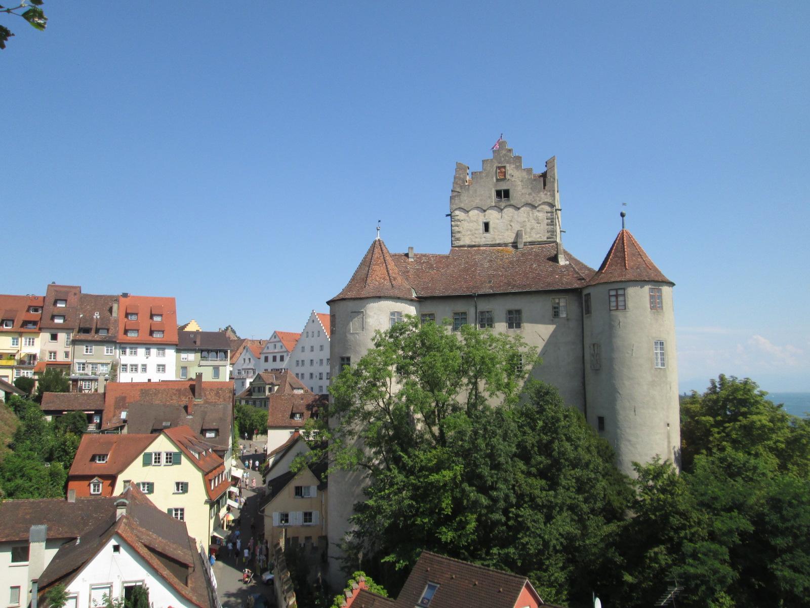 il castello di Meersburg