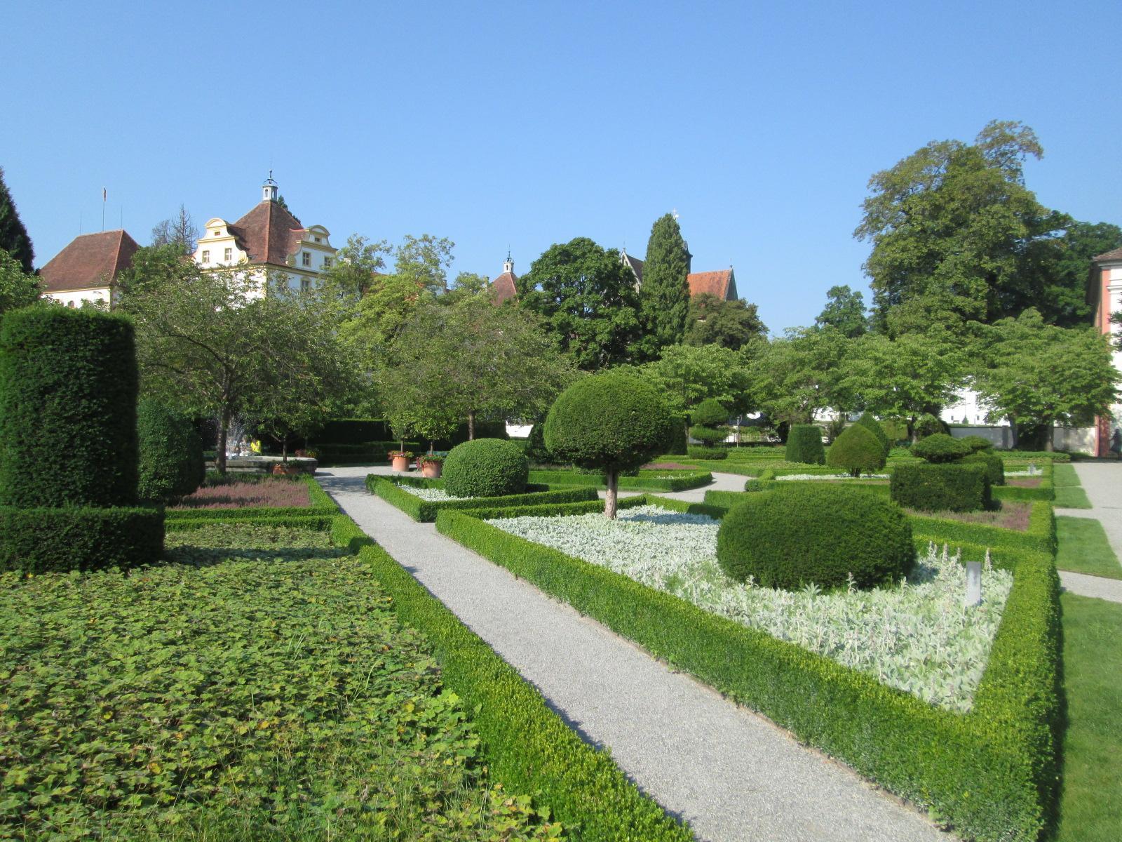 i giardini del castello di Salem