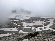 I resti del ghiacciaio dell'Agnello