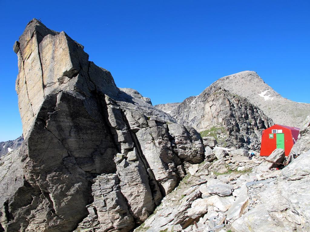Ferrand (Punta) da Grange della Valle, per il Col d'Ambin 2014-07-27
