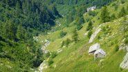 Alpe di Ghiavin, in lontananza Servino