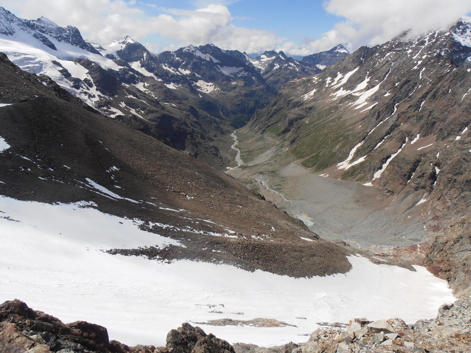 07 - la parte alta della Valpelline, così lunga e selvaggia a che percorrerla è un vero viaggio