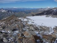 panorama verso la valle
