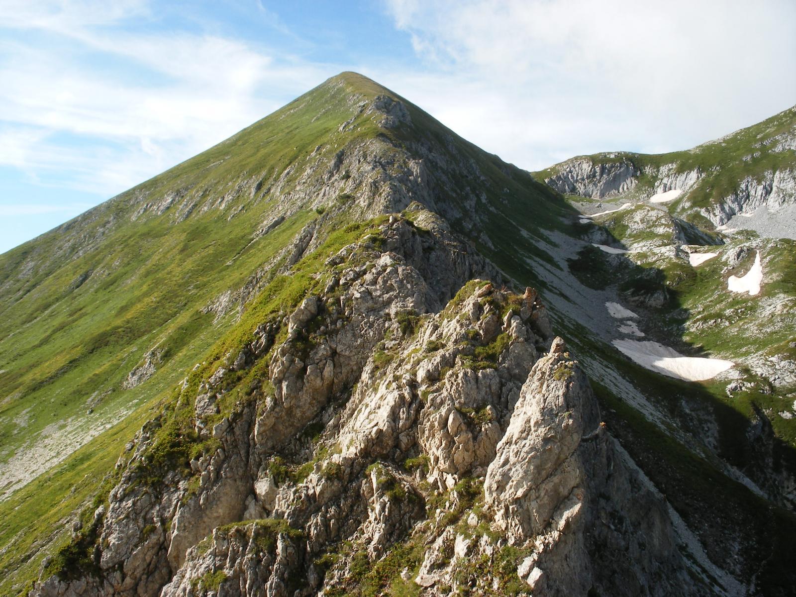 la cresta per il Ciamousse'