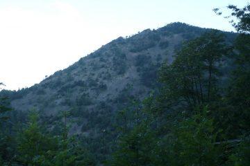 La cresta percorsa