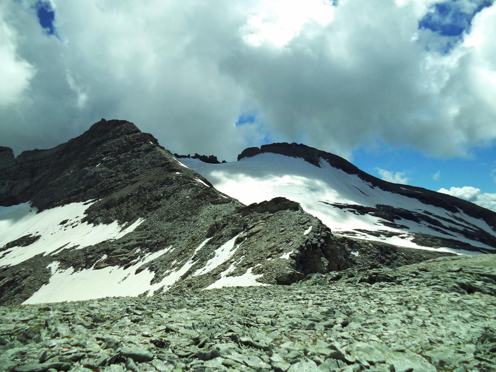 dalla punta dell'agnello condizioni glacier du ferrand