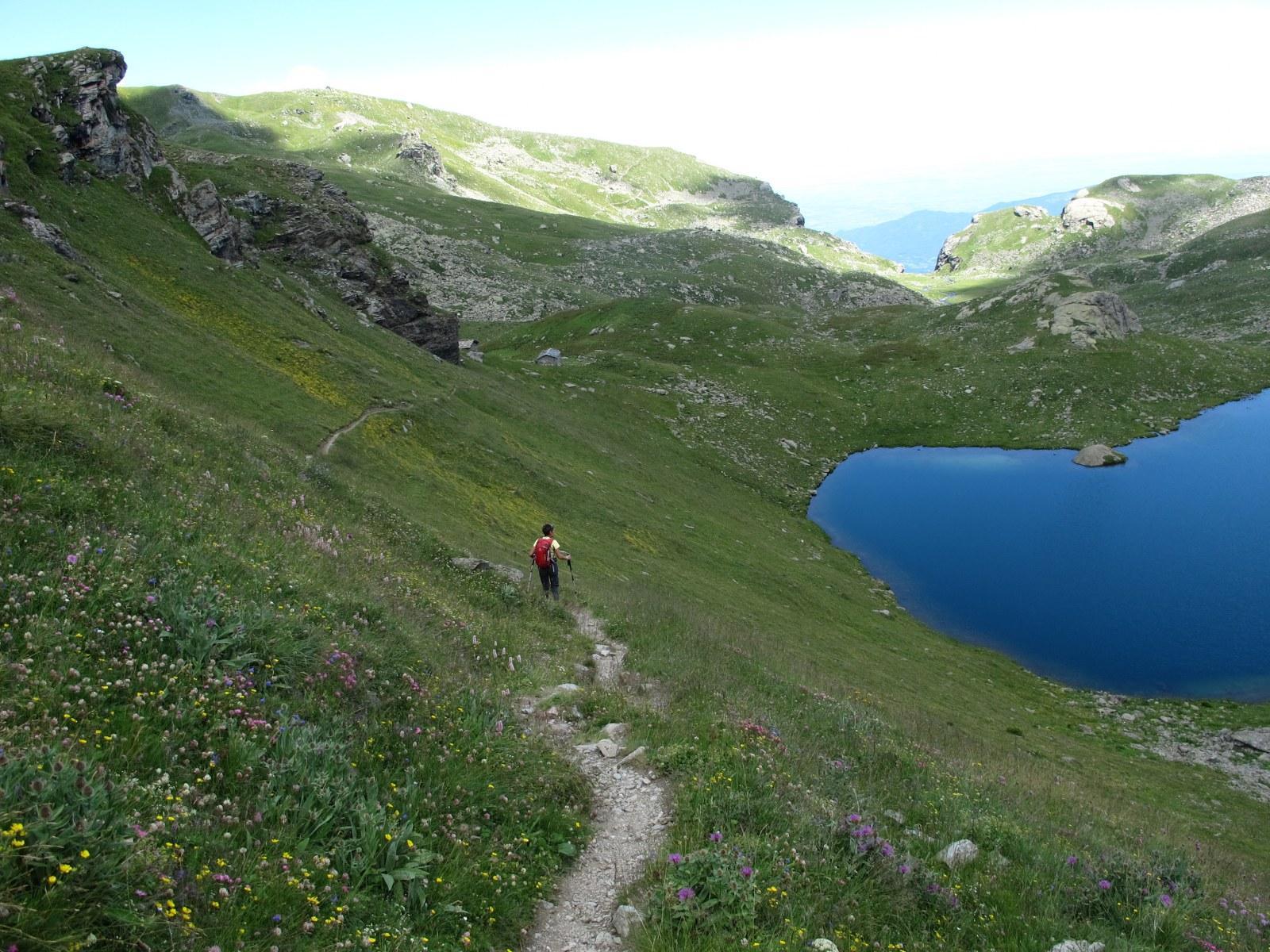 Rientro all'Alpetto con l'omonimo lago