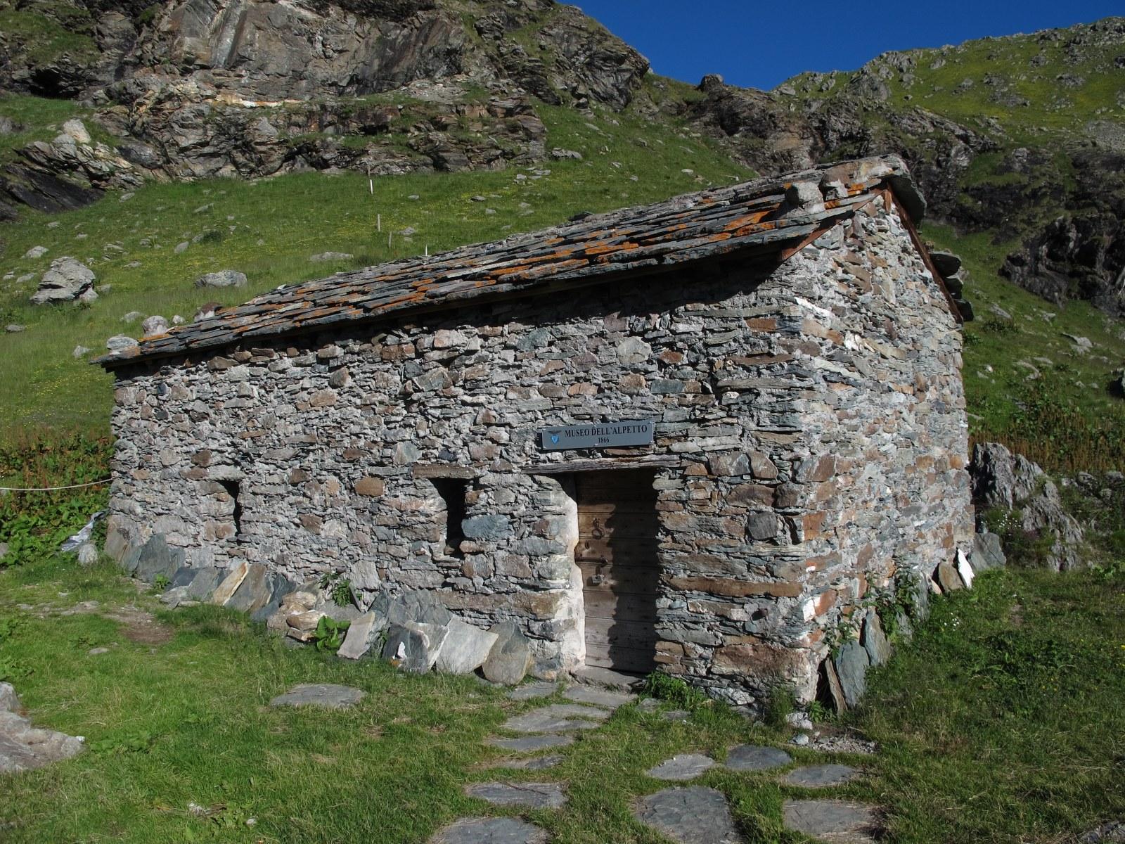 Il museo dell'Alpetto