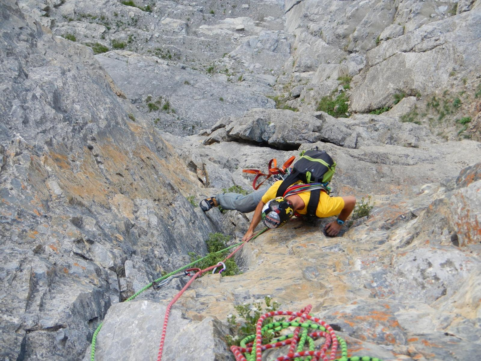 bei passi di arrampicata