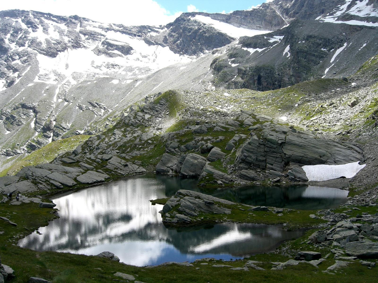 Il bellissimo Lago delle Rocce