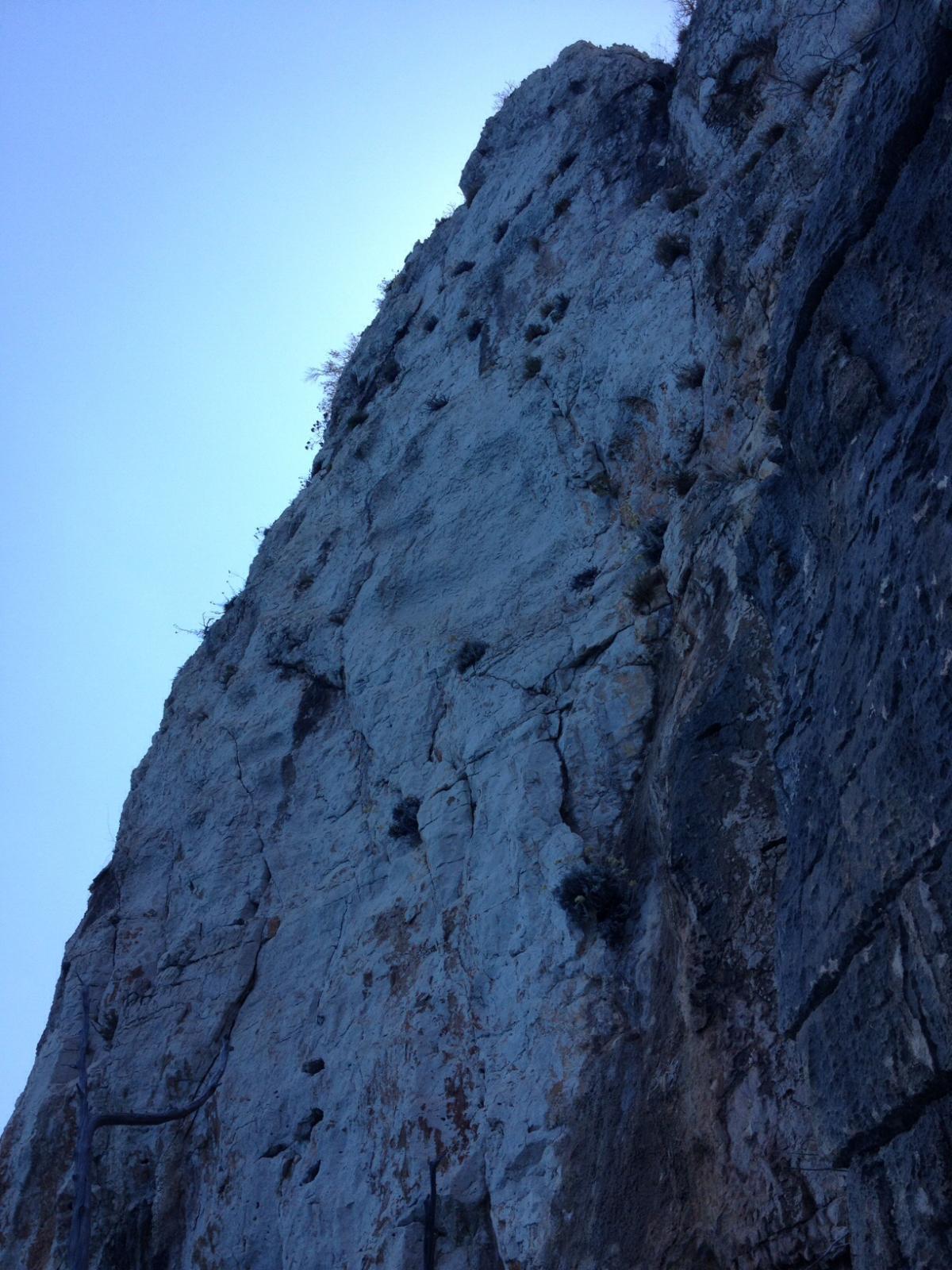 La parete del quinto tiro