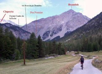 vista itinerario da Brunissard - S.T.