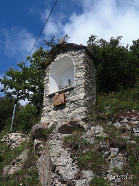 Pilone votivo a Quarzina