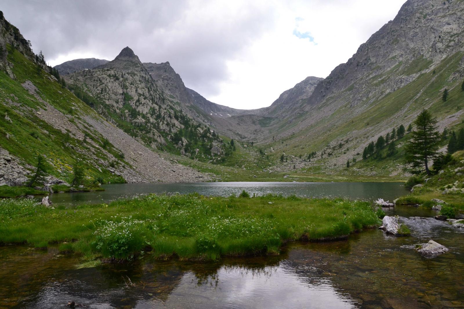 San Bernolfo (Lago di) e Rifugio de Alexandris Foches da San Bernolfo 2014-08-02