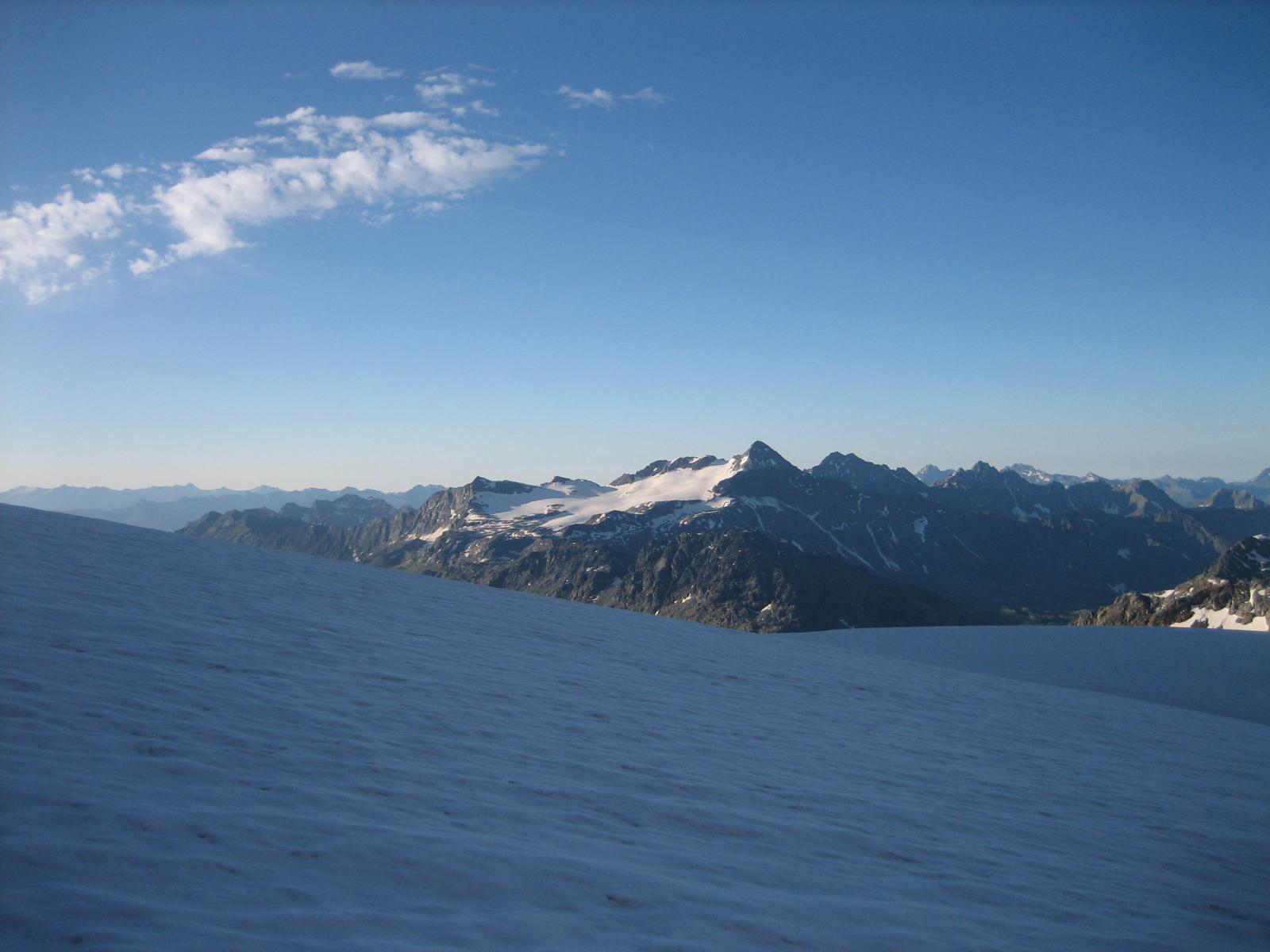 Il ghiacciao del Pizzo Scalino, detto