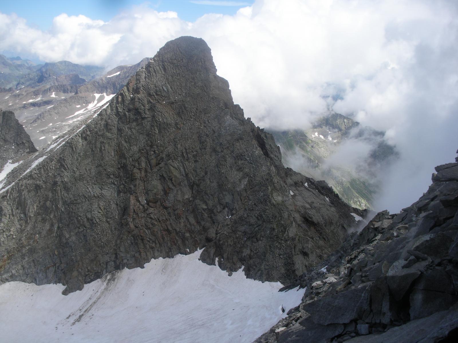 Il Monveso dalla Roccia Azzurra..