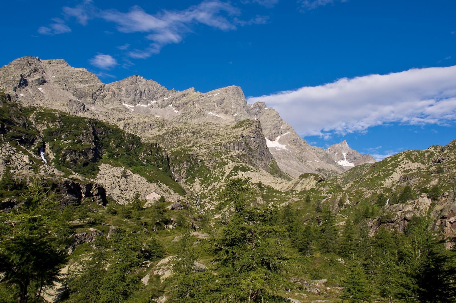 Moncimour da Forzo per il Passo del Lago Gelato 2014-08-04
