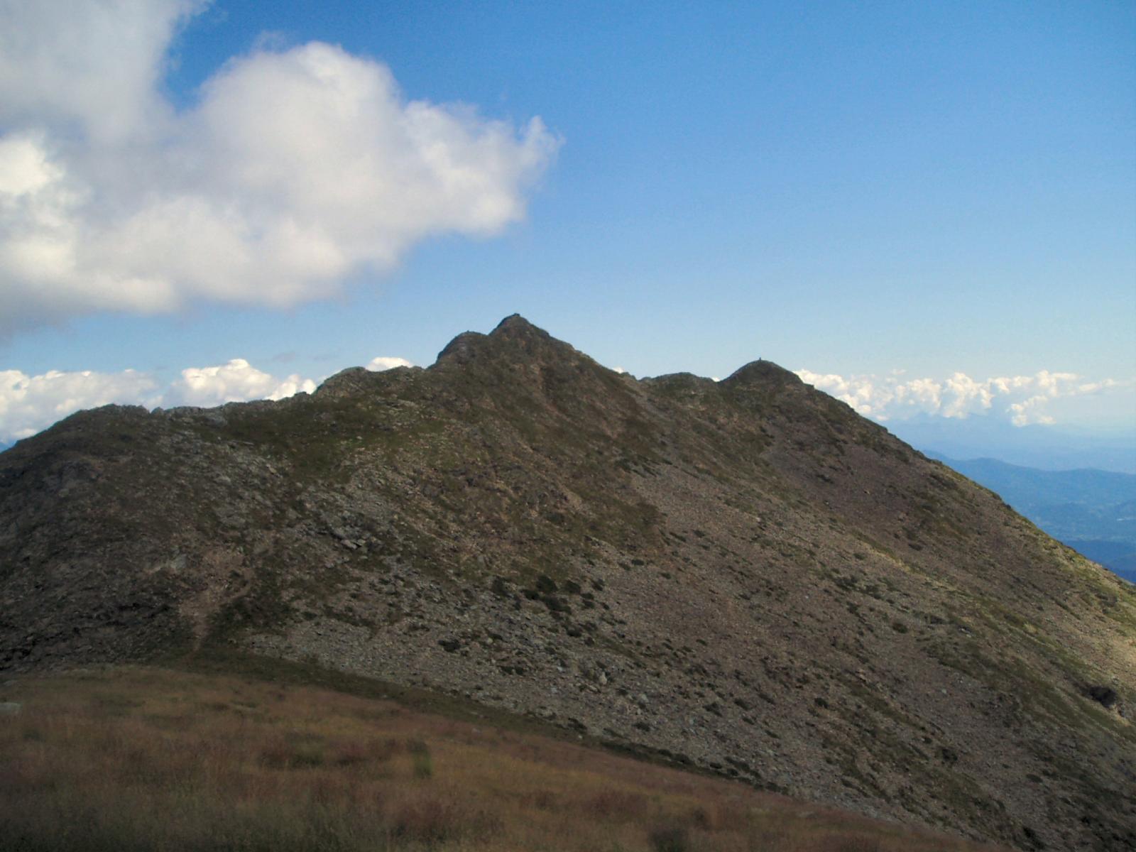 Civrari (Monte, Punta Imperatoria) da S.Antonio per il Colle del Colombardo 2014-08-05