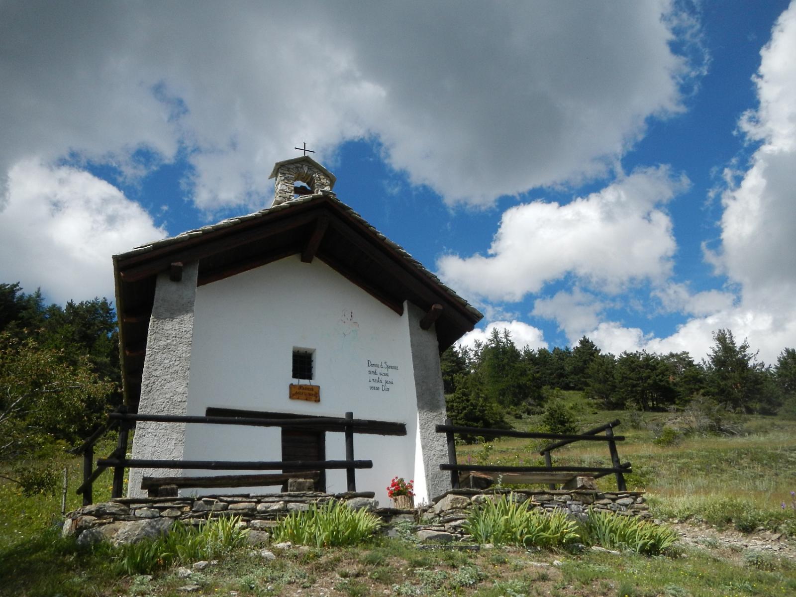 la cappella Madonna delle Nevi