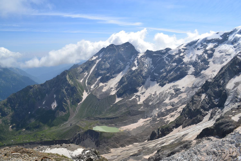 verso Pizzo Bianco e Lago delle Loccie