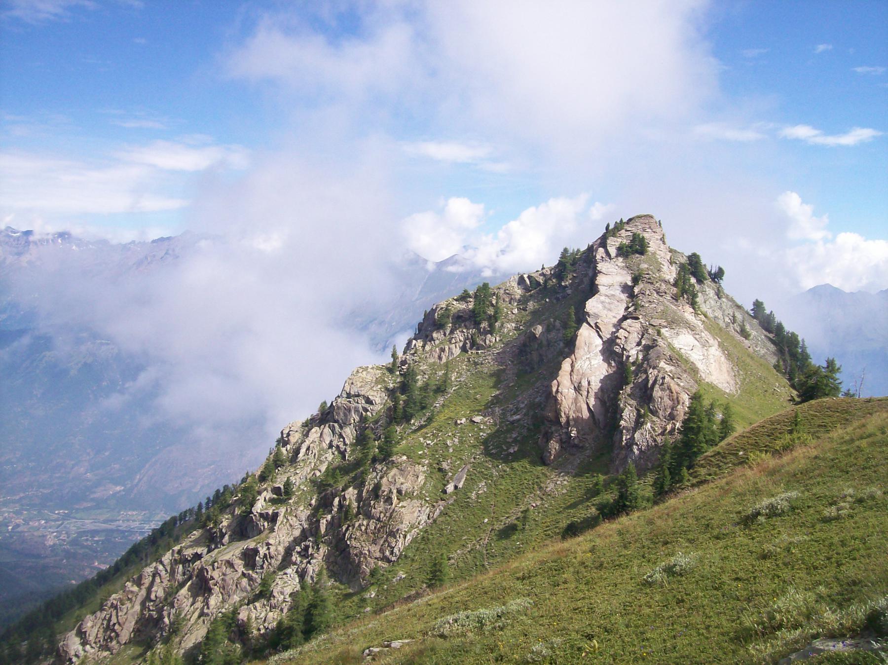 Col Mulinas e Monte Rognone