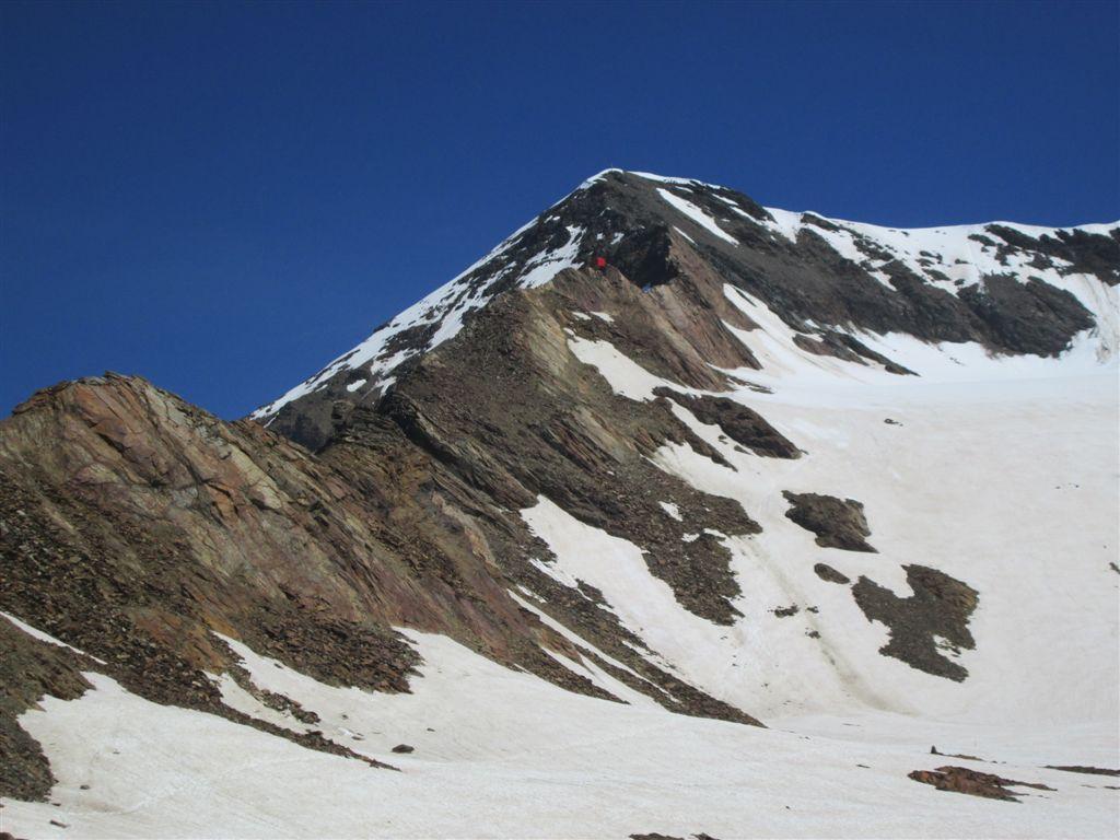 Tresero (Pizzo) Via Normale dal Passo Gavia 2014-08-06
