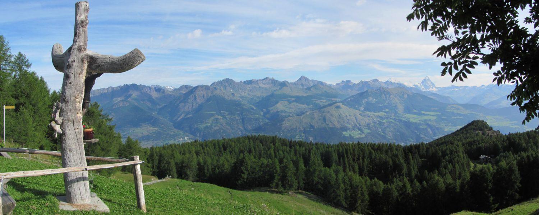 Alpe Brencon caratteristica croce