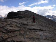 In cima al piccolo Rothorn