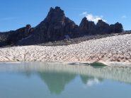 a dx della cima il colletto 2969 m, tutto a dx il Col du Grand Cordonnier 2943 m